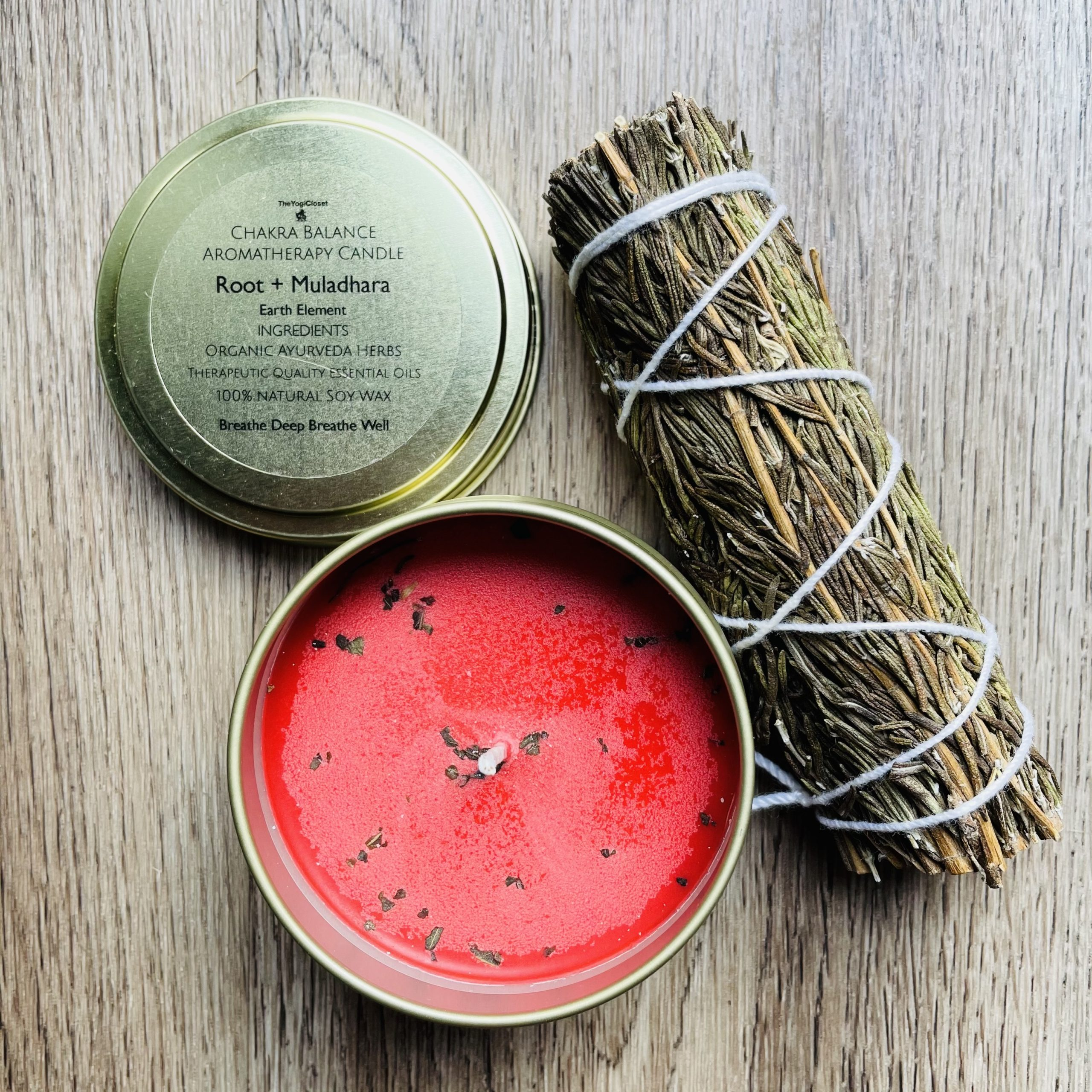 Rosemary Smudge and Root Chakra Aromatherapy | Well Rooted | Curated Box